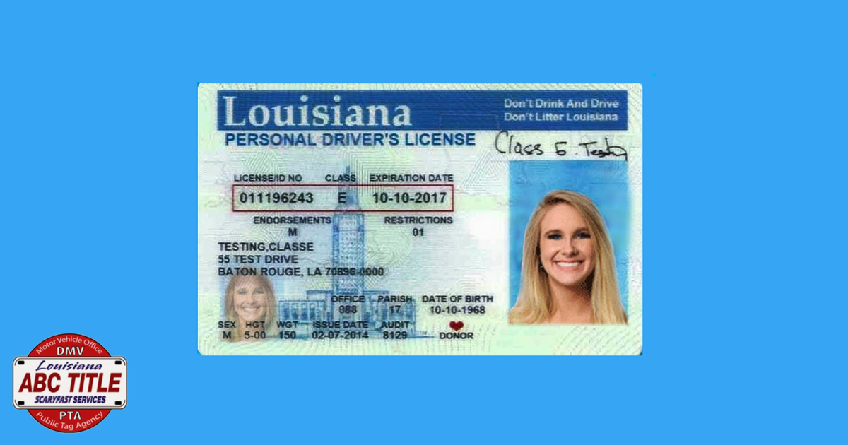 new orleans drivers license renewal