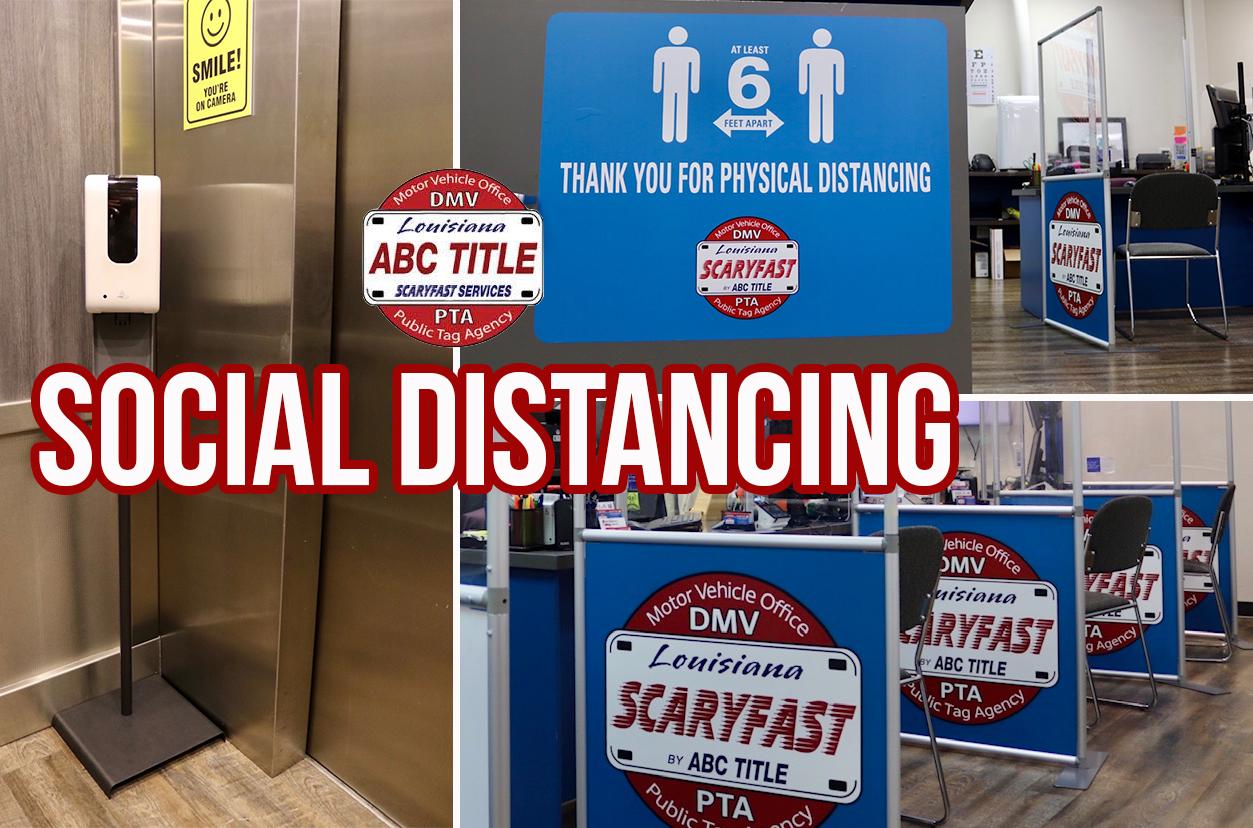 ABC Title Express DMV Social Distancing
